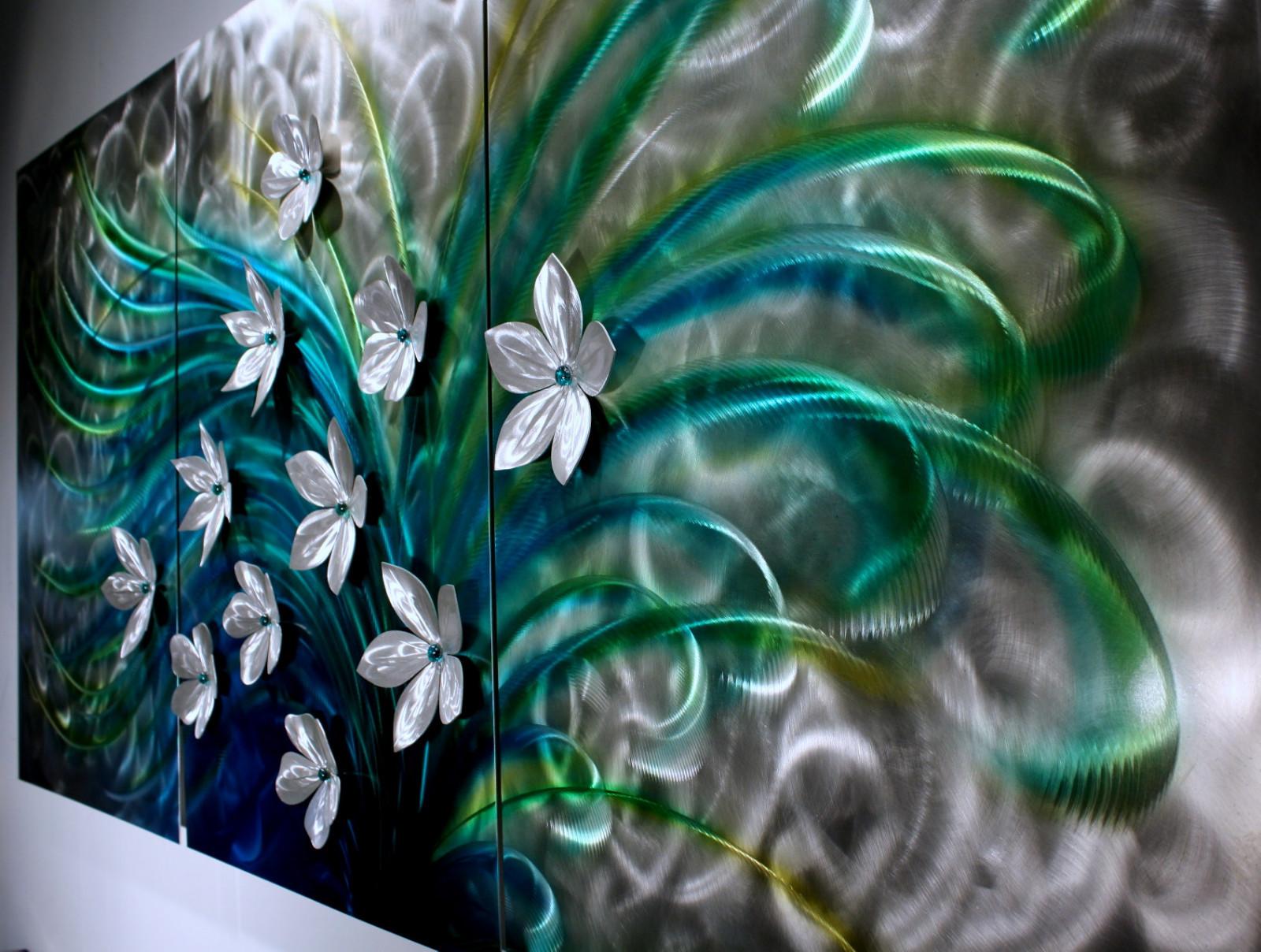 Fl Art Metal Wall Sculpture